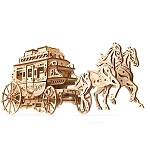 Stagecoach ~ UGears Mechanical Models