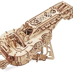UGears Mechanical Models - Mechanical Hurdy-Gurdy Musical Instrument