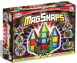 Popular Playthings Magnetic Building Tiles MagSnaps - 100 pcs