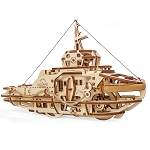 Tugboat ~ UGears Mechanical Models