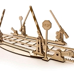 UGears Mechanical Models - Mechanical Railroad Rails