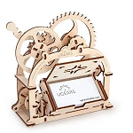UGears Mechanical Models - Mechanical Box - Business Card Holder