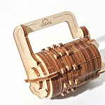 UGears Mechanical Models - Mechanical Combination Lock