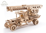 UGears Mechanical Models - Mechanical Fire Truck