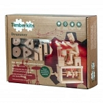 Timberkits Drummer Mechanical Wooden Model Kit