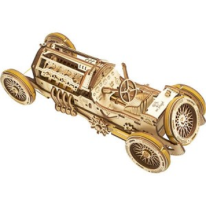 UGears Mechanical Models - Mechanical U-9 Grand Prix Car