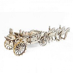 UGears Mechanical Models - Mechanical Royal Carriage