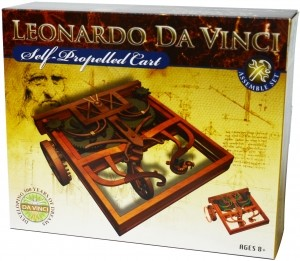 Leonardo da Vinci Edu-Science - Self-Propelled Cart Assemble Set