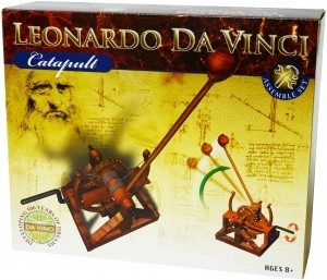 Leonardo da Vinci Edu-Science - Catapult Assemble Set
