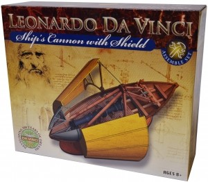 Leonardo da Vinci Edu-Science - Ships Cannon with Shield Assemble Set