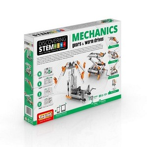 Engino Robotics STEM Mechanics: Gears & Worm Drives Set