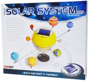 Discovery Planet Owi The Solar System Mini Solar Kit