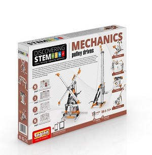 Engino Robotics STEM Mechanics: Pulley Drives Set