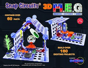 Snap Circuits 3D M.E.G Kit - 160 Projects