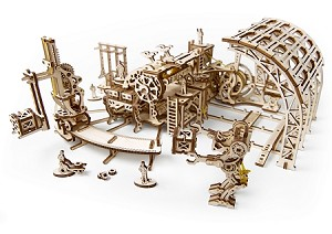 UGears Mechanical Models - Mechanical Robot Factory